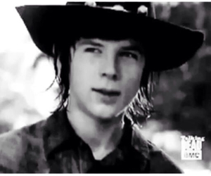 grimes, carl grimes, and riggs image