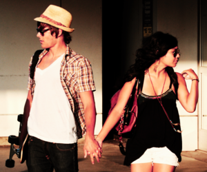 vanessa hudgens, add a tag, and zac efron image
