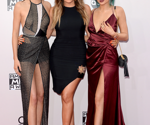 kylie jenner, khloe kardashian, and kendall jenner image