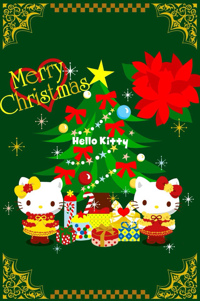 Hello Kitty Merry Christmas.Merry Christmas Hello Kitty Shared By Desi On We Heart It