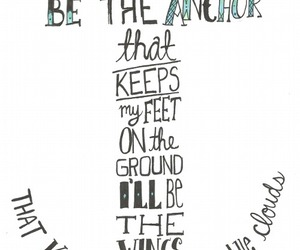 anchor, love, and quote image