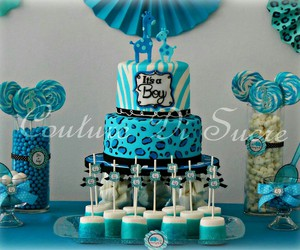 azul, babyshower, and its a boy image