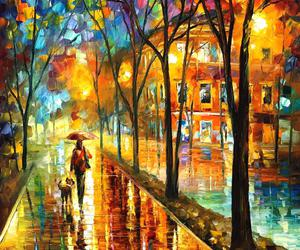 art, landscape, and Oil Painting image