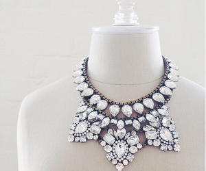 accessories, diamonds, and necklase image