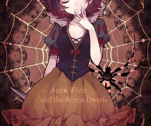 anime and snow white image