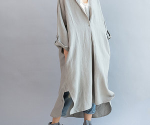 linen dress, long dress, and dress image