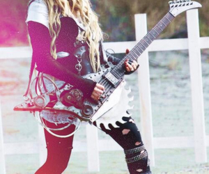 Avril Lavigne, rock, and rock n roll image