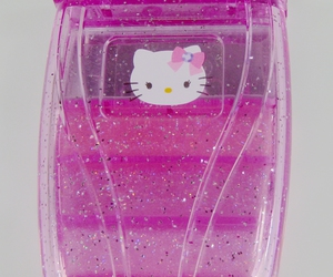 glitter, cute, and hello kitty image