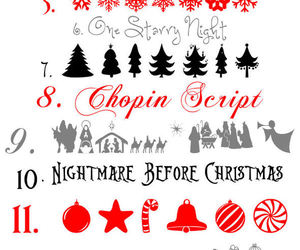 christmas, fonts, and free image