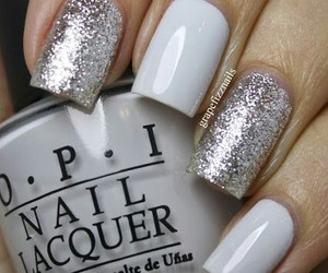 nails, pink, and opi image