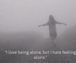 alone, forever, and hate image