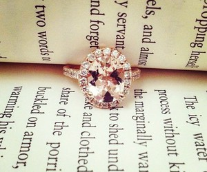 ring, book, and diamond image
