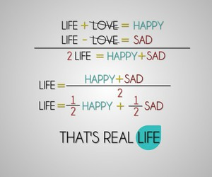happy, real life, and love image
