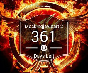 countdown, katniss, and gale image