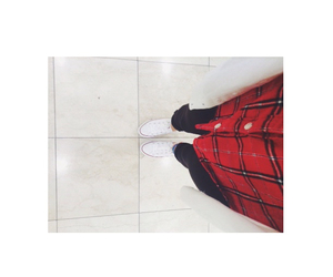 converse, cutie, and flannel image
