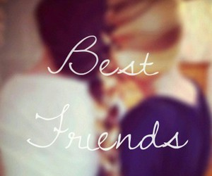 amigas, Best, and forever image