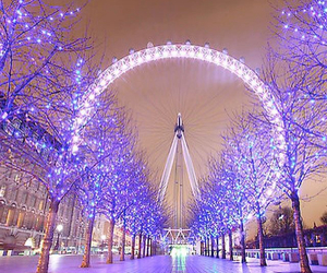 lights, london, and pretty image