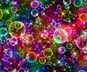 bubbles, background, and colorful image
