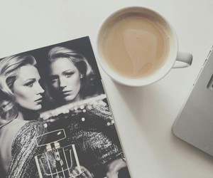 blake lively, chanel, and coffee image