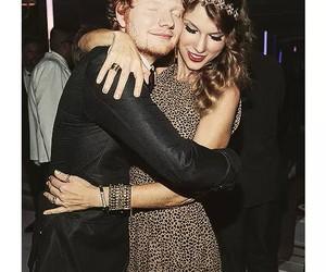 ed sheeran, Taylor Swift, and friends image