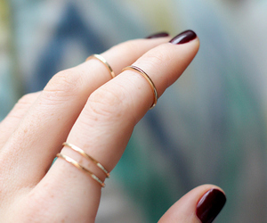 accessories, nails, and jewelry image
