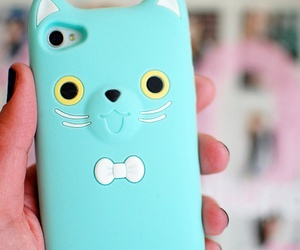 cute, cat, and iphone image