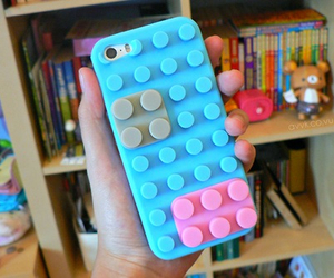 case, iphone, and lego image