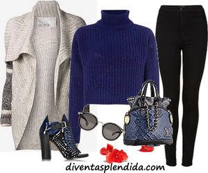 casual fashion, girly, and winter sweater image