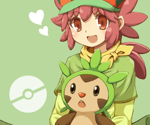 manon, chespin, and pokemon image