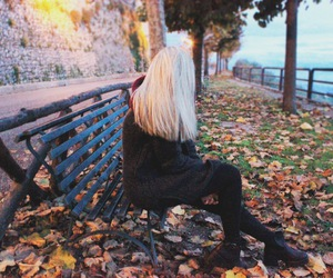 autumn, girl, and models image