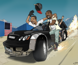 car, draw, and yeezy image
