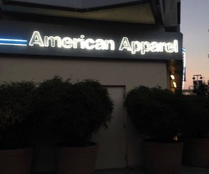 aa, american apparel, and fashion image