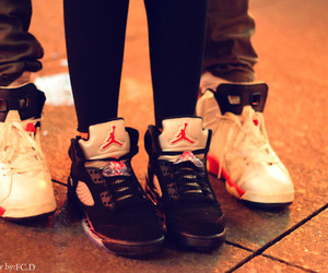 jordan, couple, and swag image