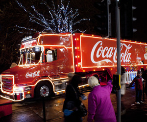 christmas, coca cola, and coca-cola image