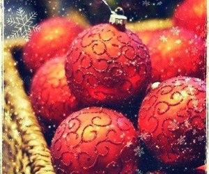 christmas, balls, and winter image
