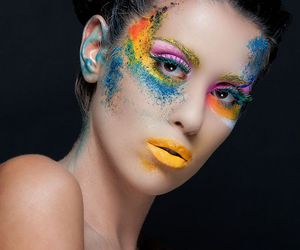 beauty, face, and model image