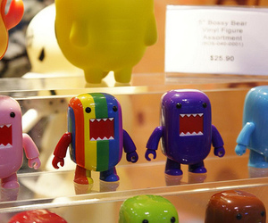 color, domo, and cute image