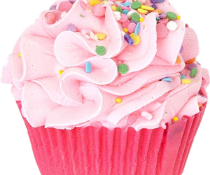 cupcake, fancy, and pink image