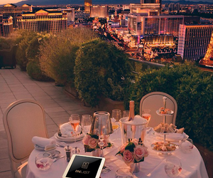 dinner, romantic, and city image