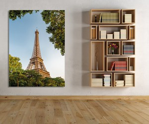 bookcase, modern home, and bookcase design image