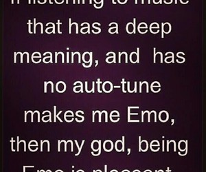 music, emo, and quotes image