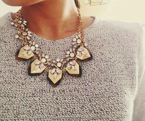 fashion, necklace, and luxury image
