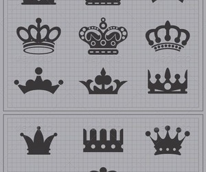 drawing, crown, and Queen image
