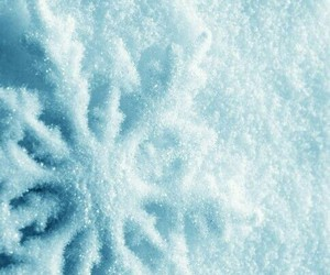 snow, christmas, and snowflake image