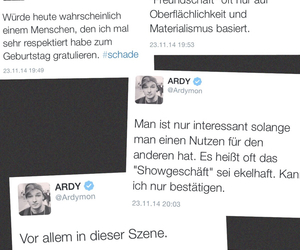 ardy, twitter, and german youtuber image