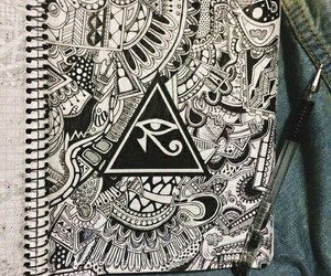drawing and illuminati image