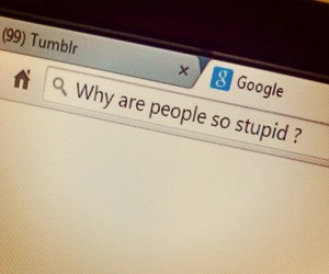 people, grunge, and stupid image