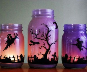 Halloween, witch, and purple image