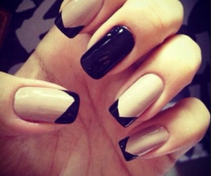 black, inspiration, and longnails image