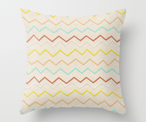chevron, vintage, and colorful image